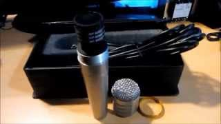 Microphone Voice Kraft VK 3000 Review + SOUND TEST