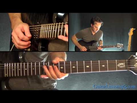 Queen - Don't Stop Me Now Guitar Solo Lesson