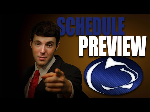 Penn State 2020 College Football Schedule Preview