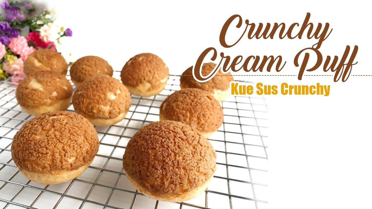 Deliciously Creamy Crispy Cream Puffs