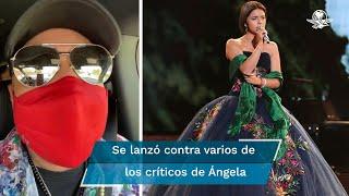 """El cantante habló sobre la entonación del Himno Nacional Mexicano ayer durante la pelea de """"El Canelo"""" Álvarez y Billy Joe Saunders"""