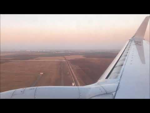 Landing in Casablanca with Royal Air Maroc, July 2017