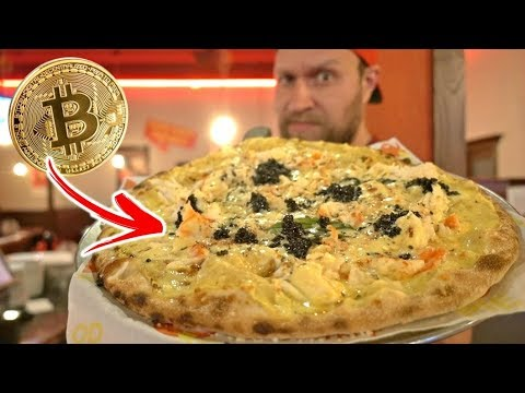 The Bitcoin Pizza ($15,000+)
