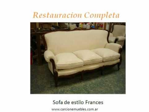Tapiceria y restauracion de muebles hector carcione e hijo for Materiales para tapiceria de muebles