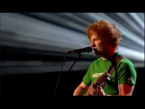 Ed Sheeran LEGO HOUSE Live at BRIT AWARDS 2012 UK