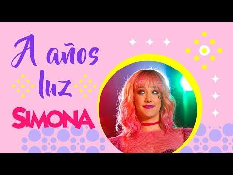SIMONA | A AÑOS LUZ (VIDEO CON LETRA OFICIAL)