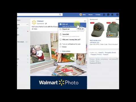 Tired of those Facebook Ads? Hide them! Here is how ..