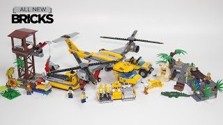 Lego City 60162 Jungle Air Drop Helicopter Speed Build