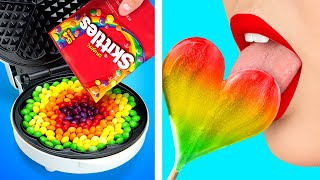 CRAZY WAYS TO SNEAK FOOD ANYWHERE YOU GO || Fun DIY Life Hacks! Tricks For 24 Hours By 123 GO! BOYS