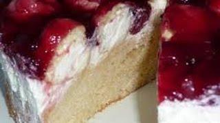 Kuchen ohne Backen Windbeuteltorte Windbeutel Torte