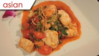 Monkfish in tomato sauce - Silent Cooking with Simon Xie Hong (with recipe)