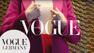 What's your mystery? #3: Eveline Hall | VOGUE x Marc Cain