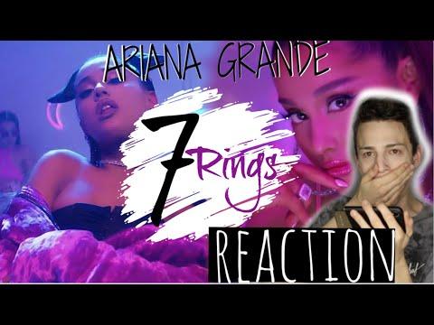 Ariana Grande- 7 rings Reaction