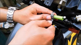 LUBRICATE THE CLUTCH CABLE WITH THIS HACK