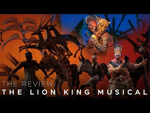 REVIEW: The Lion King Musical 2018 in Singapore
