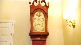 Grandfather Tall Case Clock by Gerber Overhaul Video Preview
