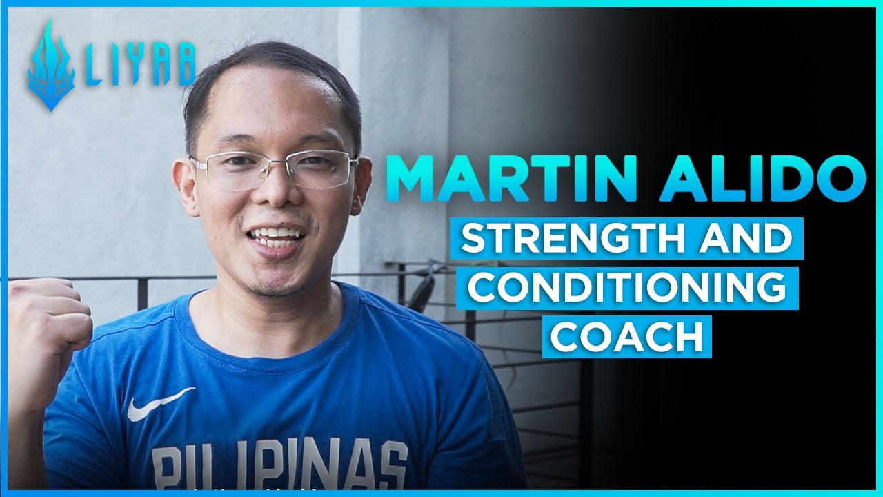 Martin Alido - Liyab Strength and Conditioning Coach