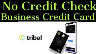 Major Game Changer! No Credit Check! No PG Visa Business Credit Card! New Fintech Tribal Credit!