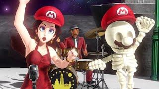 Super Mario Odyssey Walkthrough Part 39 - Darker Side of the Moon (Final Level)