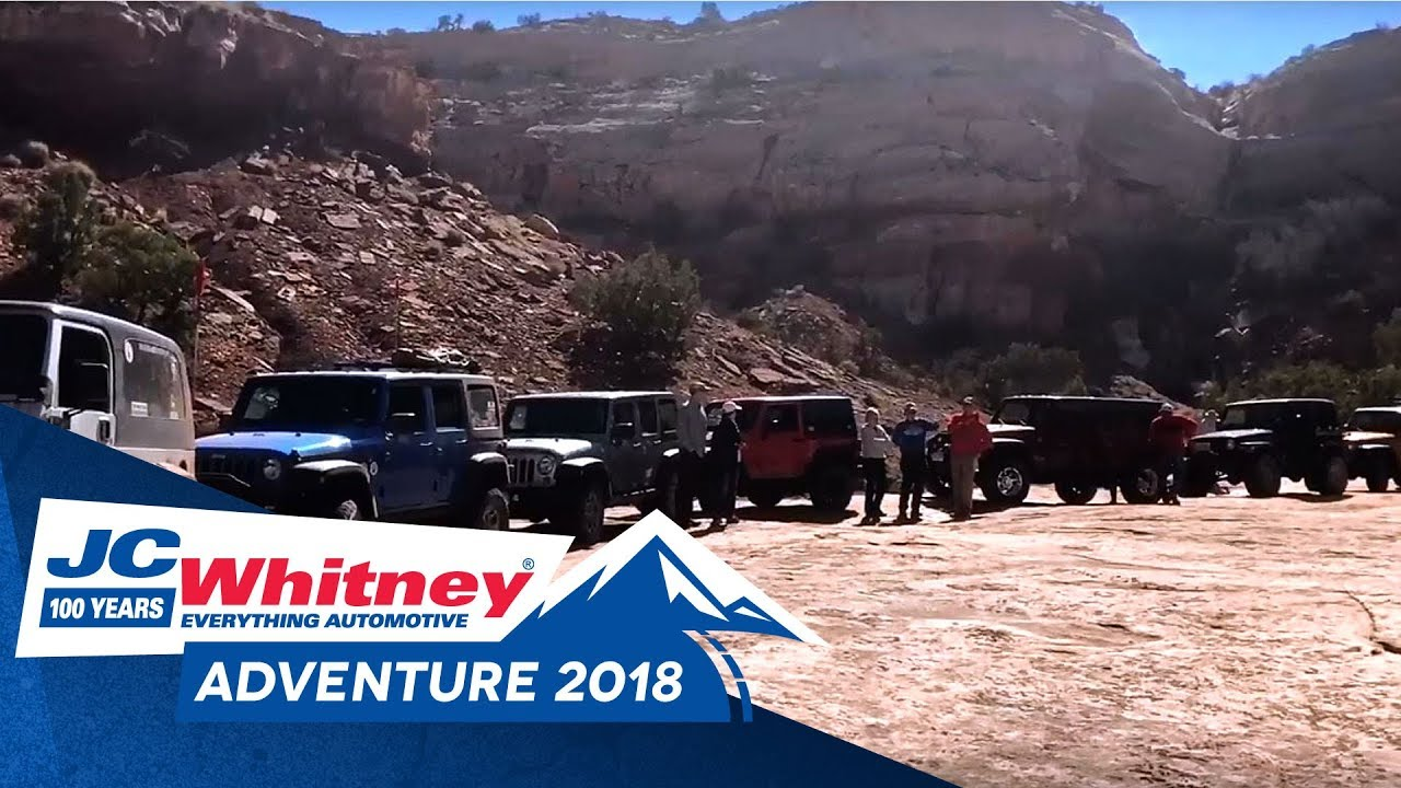 JC Whitney Adventure Tour 2018 At Moab Easter Jeep Safari