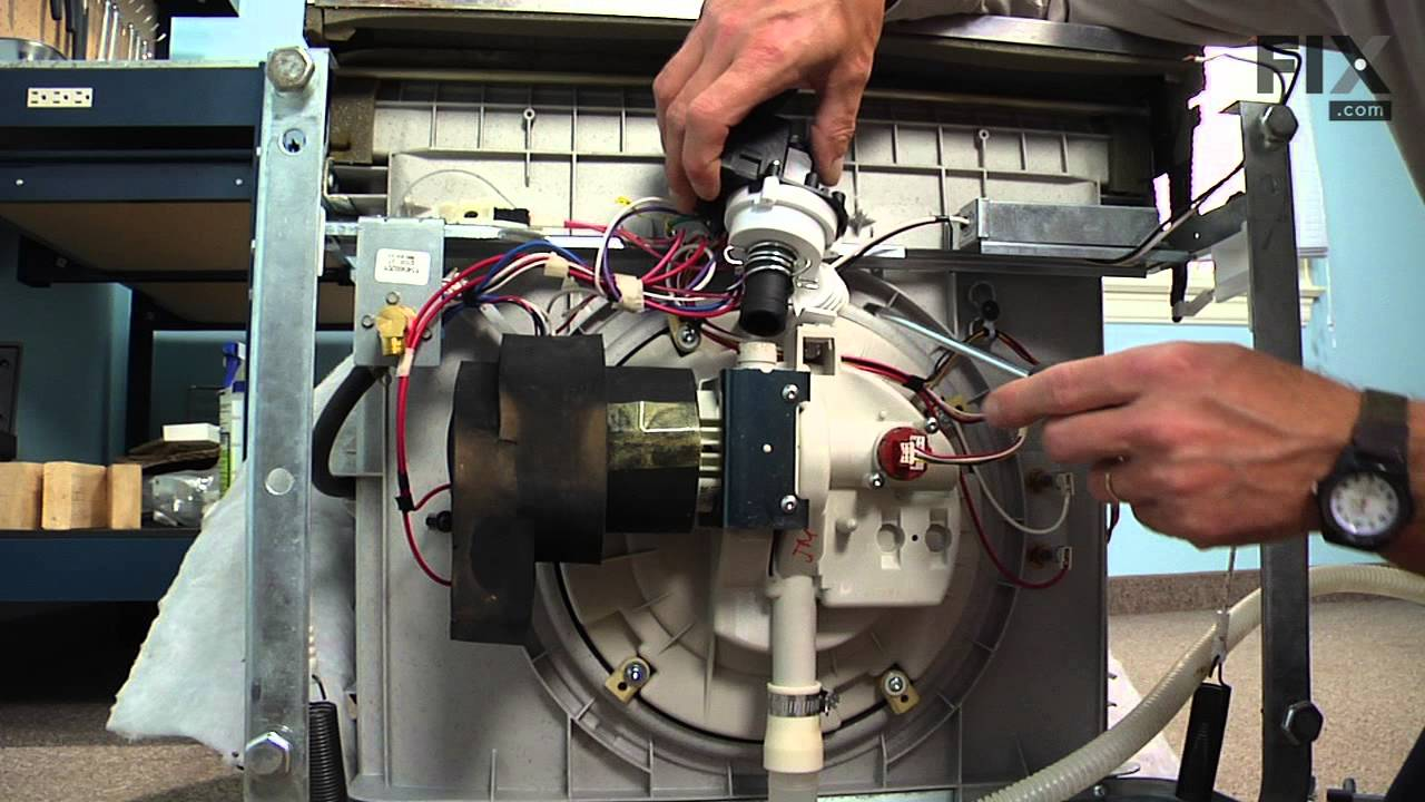Frigidaire Dishwasher Repair ndash How to replace the Drain