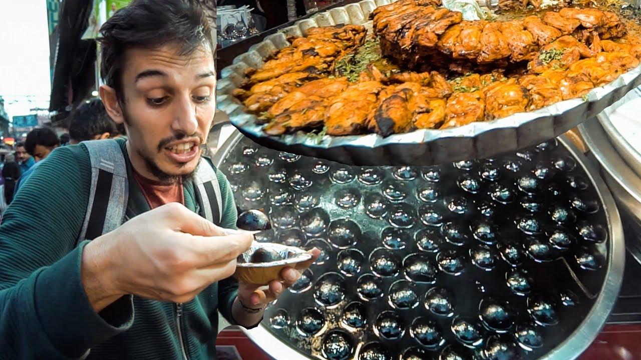 Hindistan'ın farklı sokak yemekleri