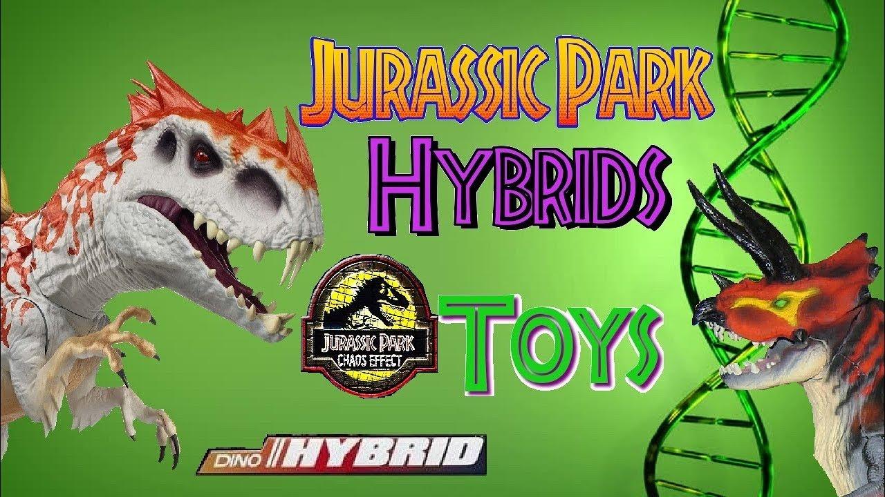 Jurassic Park Hybrid Dinosaur Toys