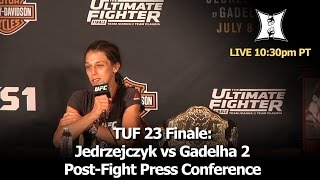 Baixar TUF 23 Finale: Jedrzejczyk vs Gadelha 2 Post-Fight Press Conference (LIVE! / Complete / Unedited)