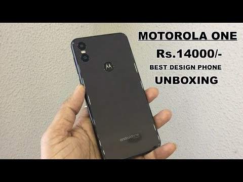 MOTOROLA ONE REVIEW AND UNBOXING Rs.14000