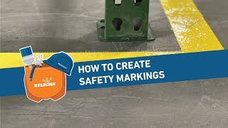 How to Create Safety Markings with Belzona 5231