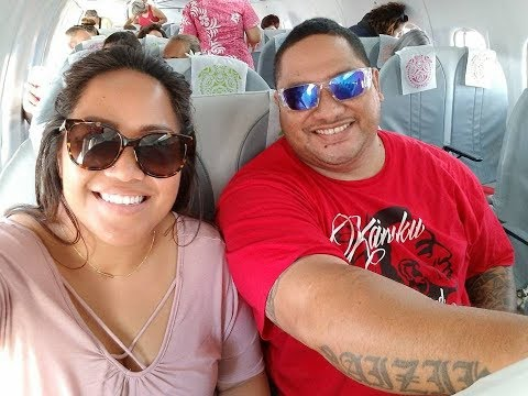Flying to TAHITI! Birthday Trip 2017