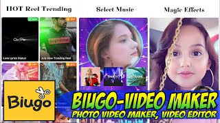 Biugo Video Maker - Photo Video Maker - Video Editor Pro Tutorial On Android Easy Guide screenshot 2