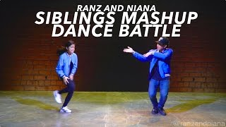 siblings mashup dance battle bruno mars that s what i like mix   ranz and niana