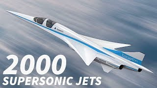 2000 SUPERSONIC Jets in the FUTURE?