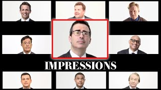 Conan O'Brien, Stephen Colbert, and Other Late Night Hosts Do Their Best Impressions of Each Other