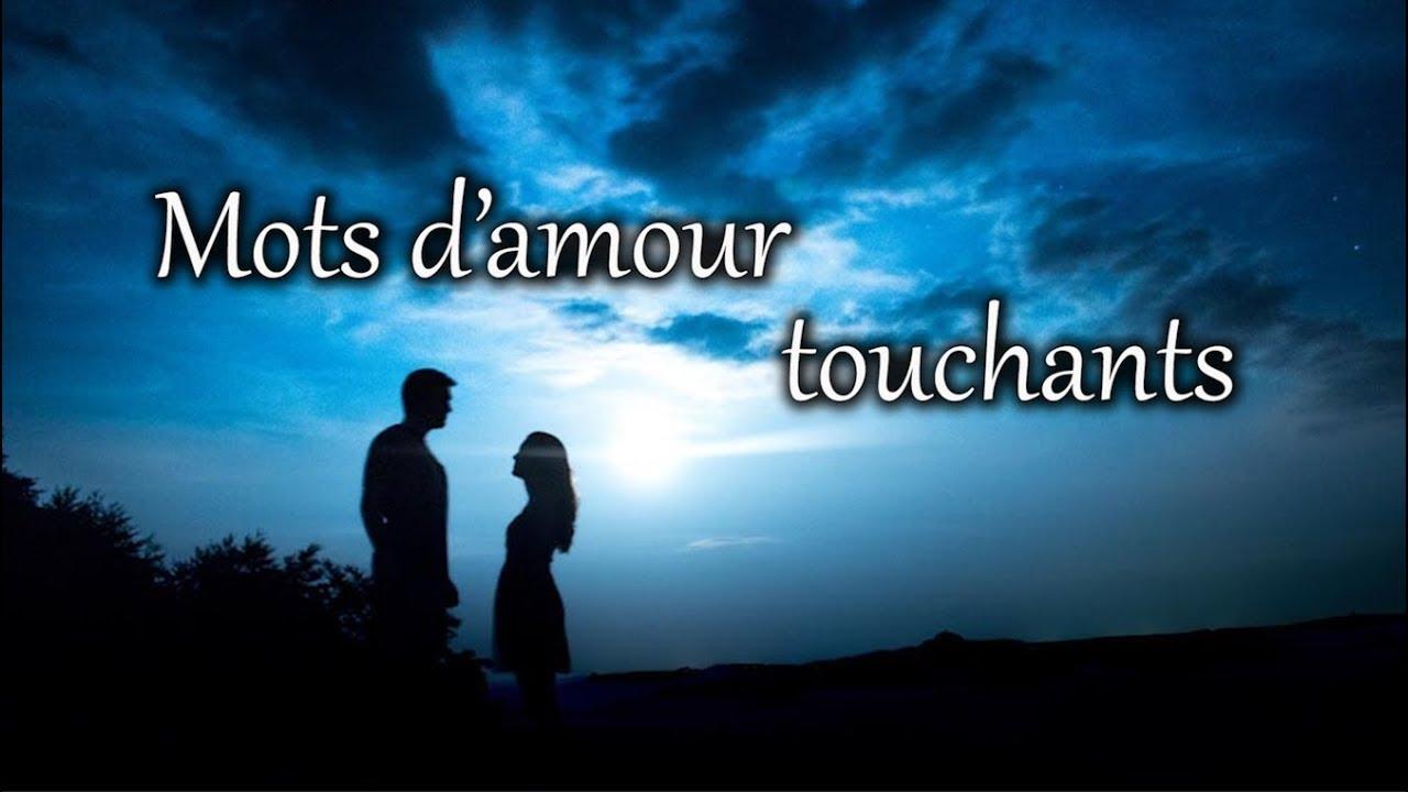 Mots Damour Très Touchants