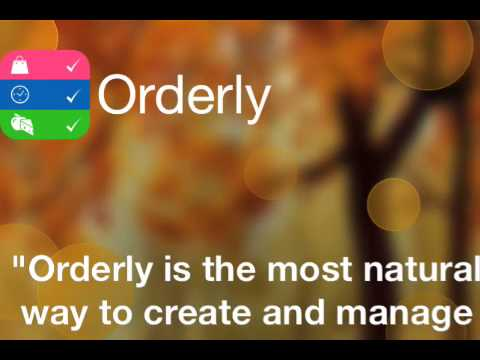 Visual to-do App Orderly undergoes major update