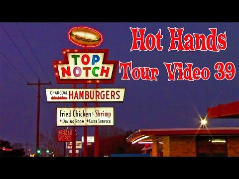 Hot Hands Tour Video 39: Valentine's Day at Top Notch Dazed and Confused filming location