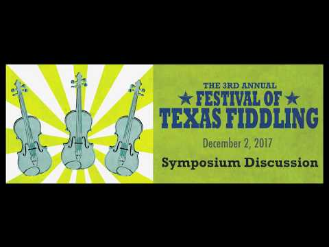 2017 Festival of Texas Fiddling Symposium Session