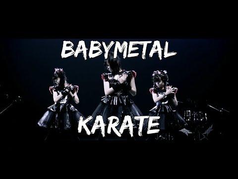 BABYMETAL - KARATE (lyrics Kanji-English + YuiMetal Birthday!)