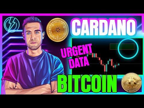 BITCOIN ON CHAIN METRICS (URGENT BTC SIGNAL)! CARDANO NEEDS TO BREAK THIS AREA!