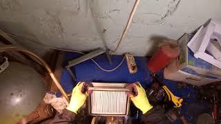 Адаптер салонного фильтра ВАЗ 2108-09, 2113-15 своими руками