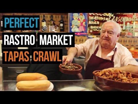 Best tapas bars in Madrid's Rastro flea market (including the best grilled sardines!)