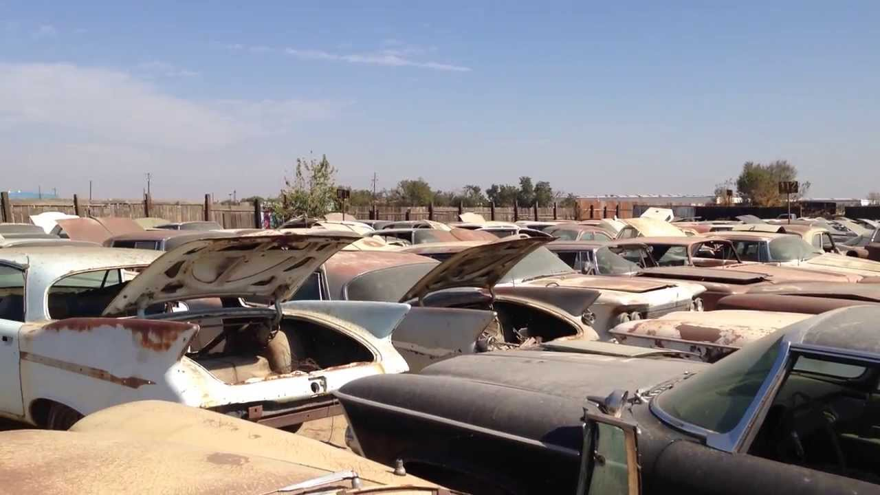 Junkyard Cars Chrysler Imperial Hot Spot - YouTube