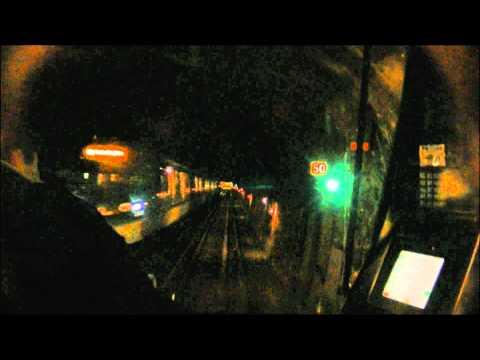 Ligne 2 du métro de Paris : Porte Dauphine - Villiers (Première partie) [HD]
