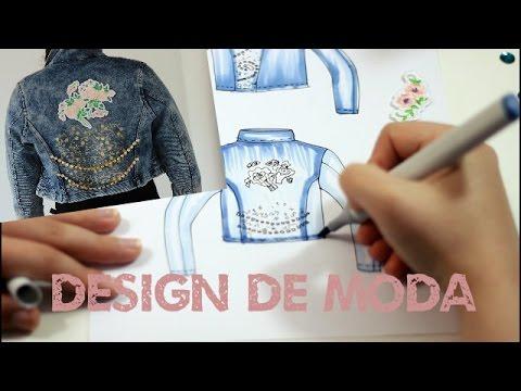 Trabalho Design de Moda - Jaqueta Customizada
