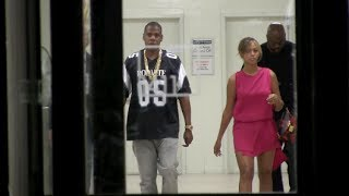(New) Beyonce And Jayz leaving there New York City Offices Together 06-06-14