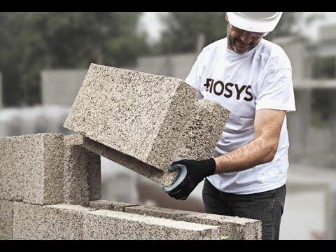 היתרונות בבנייה בבלוק ביוסיס BIOSYS HEMP BLOCK SYSTEM