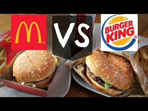 BIGMAC VS WHOPPER | Versus BURGER edition