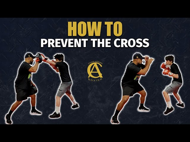 How to Prevent the Cross in Boxing [ Very Important! ] | Coach Anthony |